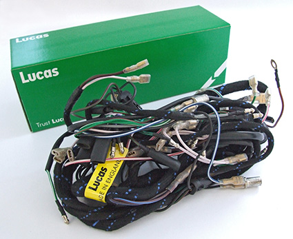 lucas motorcycle wiring harness lucas triumph 3ta/5ta 1957-62 with prs8 switch main ... #1