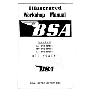 bsa 1948 to 1966 workshop manual 123cc d1 148cc d3 and 174cc d5 d7 rh nationalmotorcyclemuseum co uk workshop manual download workshop manual 1999 dodge caravan