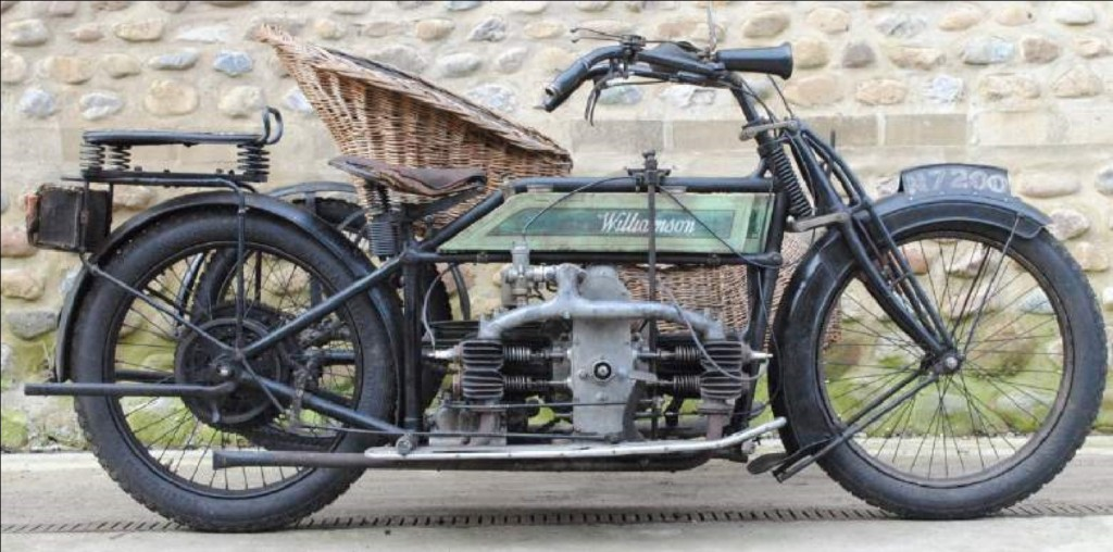 1912 Williamson 964cc 8hp, The National Motorcycle Museum