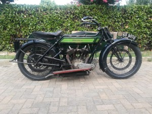 1922 Royal Enfield 8hp Model 180 Combination (1)