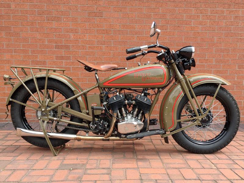 1929 Harley Davidson Model D Auction NMM 2017