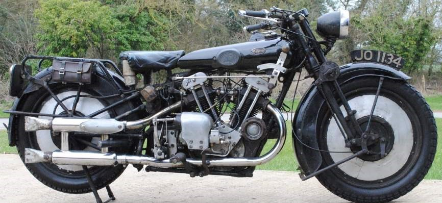 1930 Brough Superior OHV 680 Black Alpine, The National Motorcycle Museum