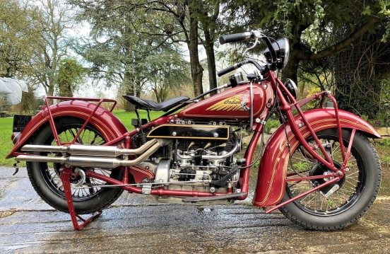 1937 Indian four