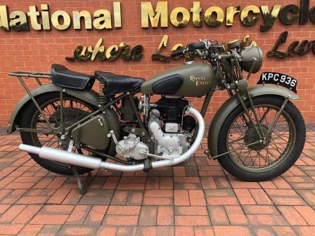 1942 Royal Enfield WD CO 350cc SV