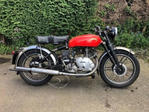 1951 Vincent Comet Series C Red