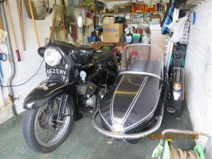 1955 Vincent Black Night Series D