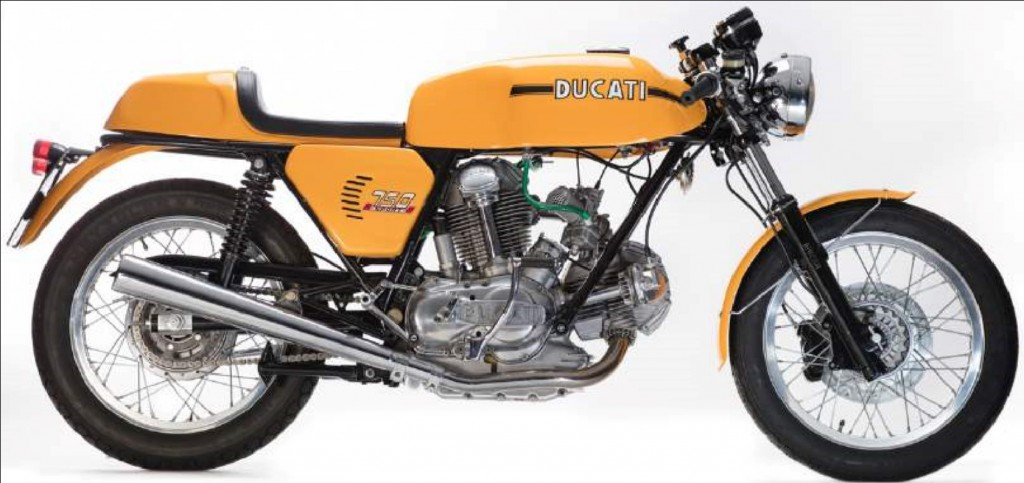 The National Motorcycle Museum, 1973 Ducati 750 Sport