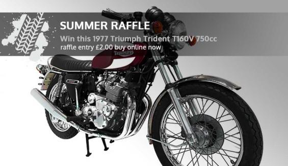 NMM Summer 2019 Raffle - Win a Motorbike!