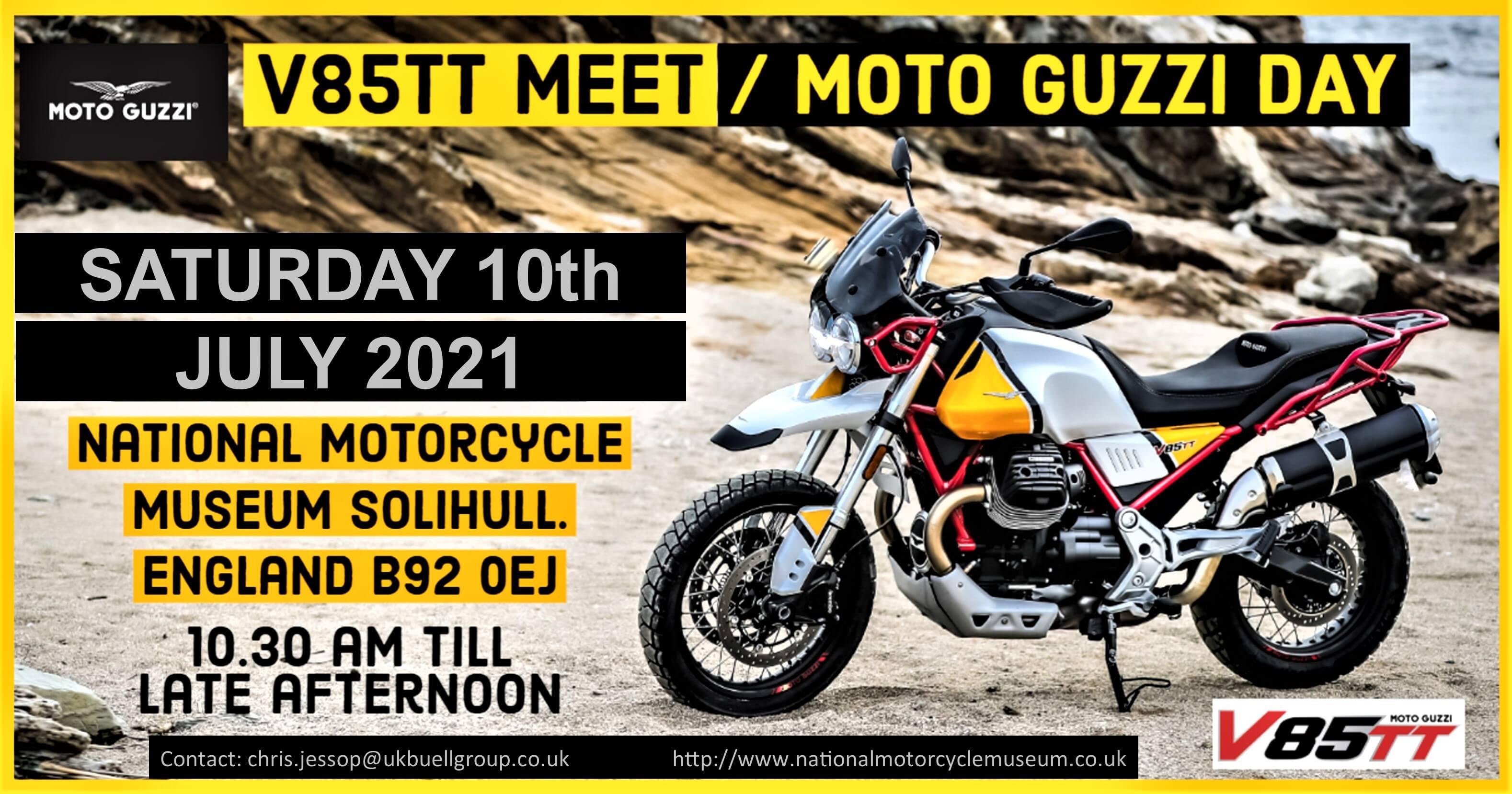 2021 V85TT Meet Poster