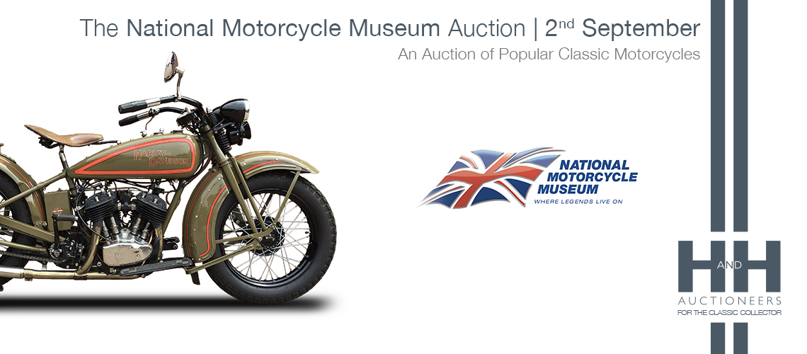 Auction 2nd september The National Motorcycle Museum
