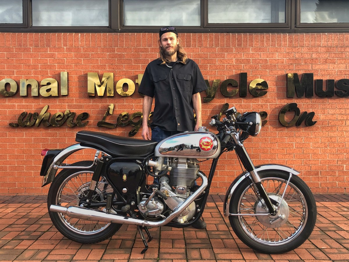 BSA Goldstar Winner