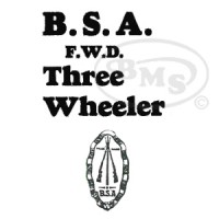 BSA FWD/3-Wheelers