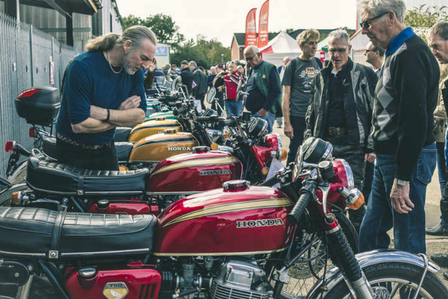CB750 Open day, 2018