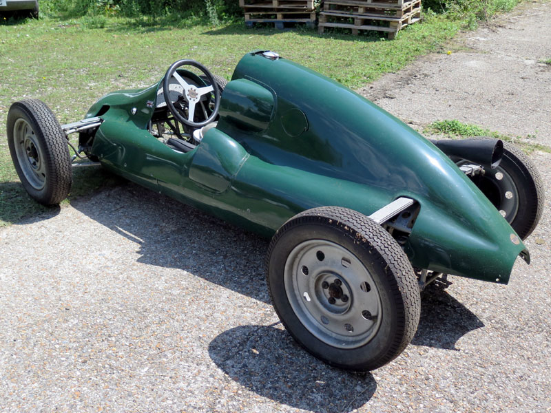 Cooper-JAP MK 4 Single Seater