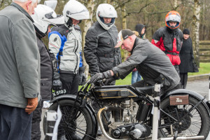 The National Motorcycle Museum gives friends of the museum a chance to ride some of the rare machinery it looks after