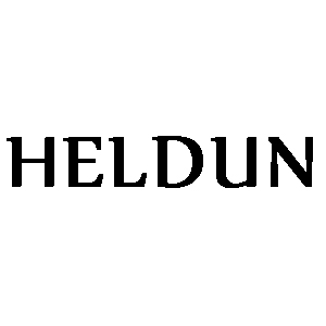 Heldun Logo for Original Manufacturers Literature Black and White photocopy set by Bruce Main Smith via National Motorcycle Museum
