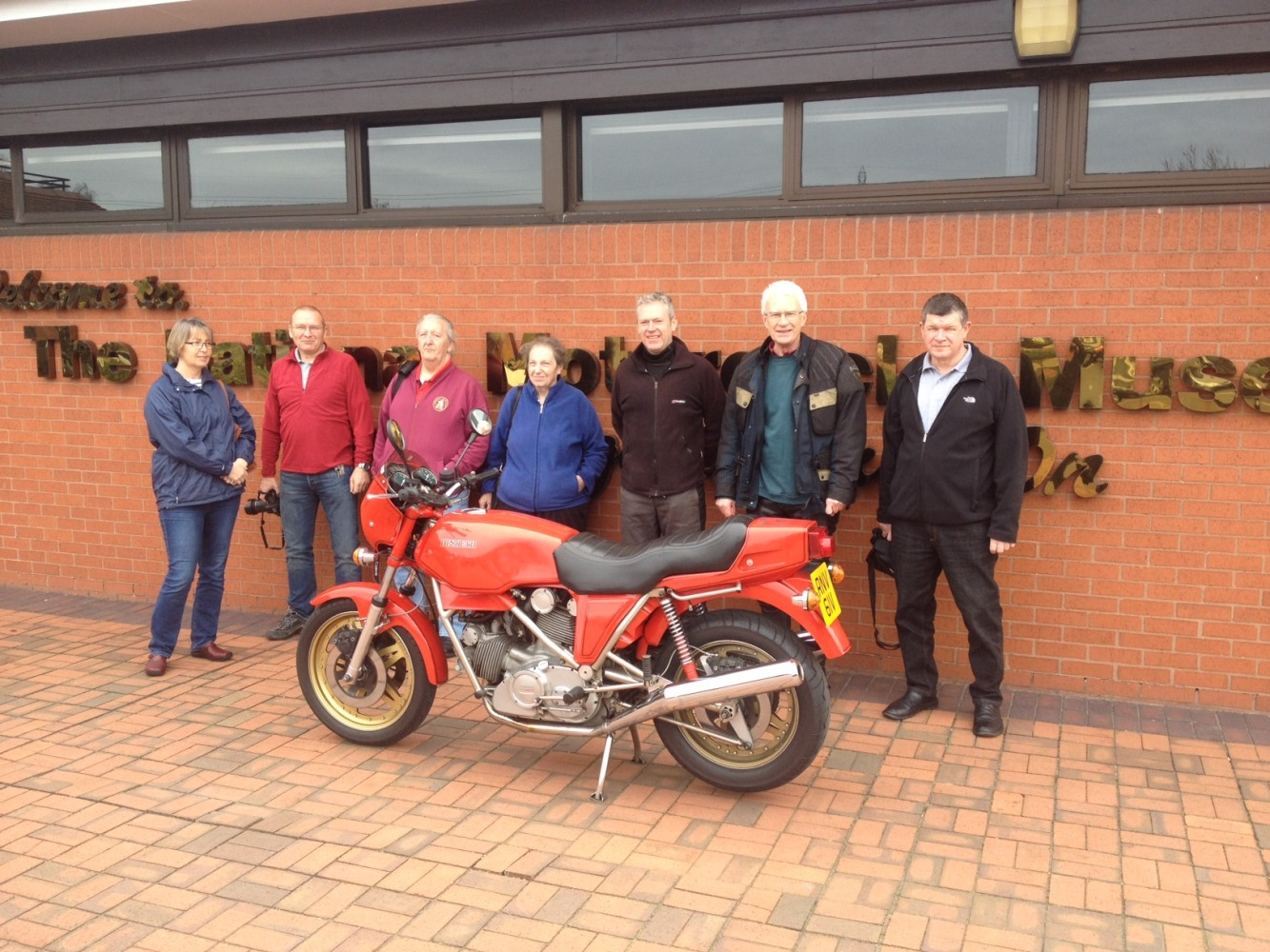 Hesketh Owners Visit The Museum
