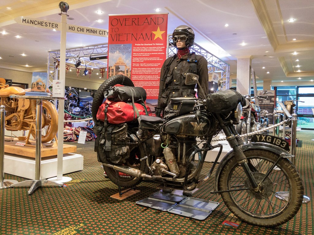 Overland to Vietnam Gordon May The National Motorcycle Museum