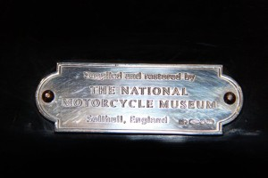 Supplied by The National Motorcycle Museum