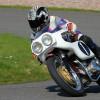 Darley Moor, National Motorcycle Museum Classic Bike Test. Ashbourne Derbyshire, UK. 20th April 2018.