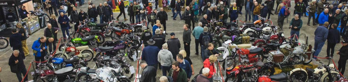 The Carole Nash 39th International Classic MotorCycle Show - Photo Credit Mortons Media Group (3)