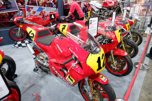 The Carole Nash Classic Motorcycle Mechanics Show Cagiva Display - IMAGE CREDIT LEANNE MANDALL MORTONS MEDIA GROUP