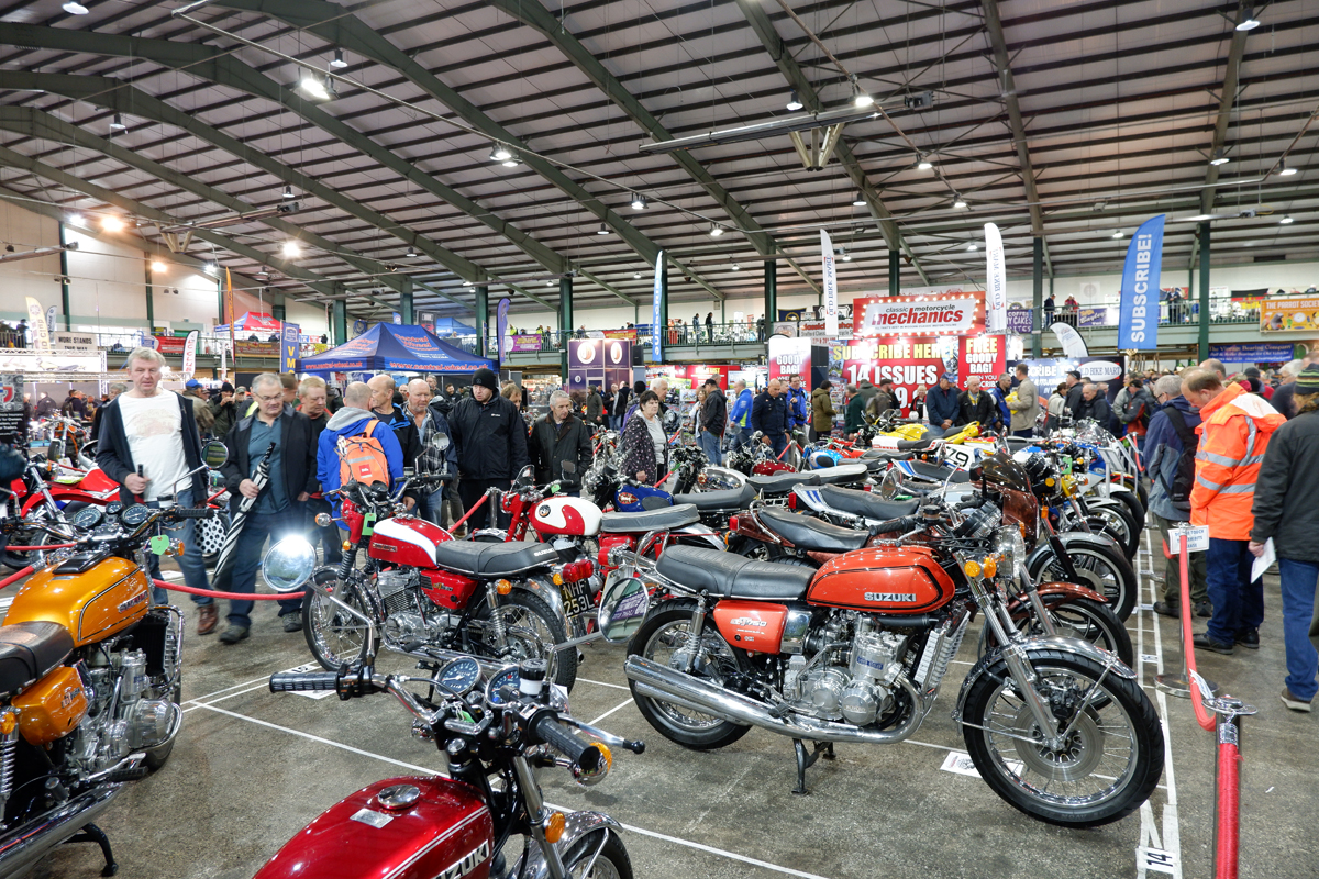 The Carole Nash Classic Motorcycle Mechanics Show - IMAGE CREDIT LEANNE MANDALL MORTONS MEDIA GROUP