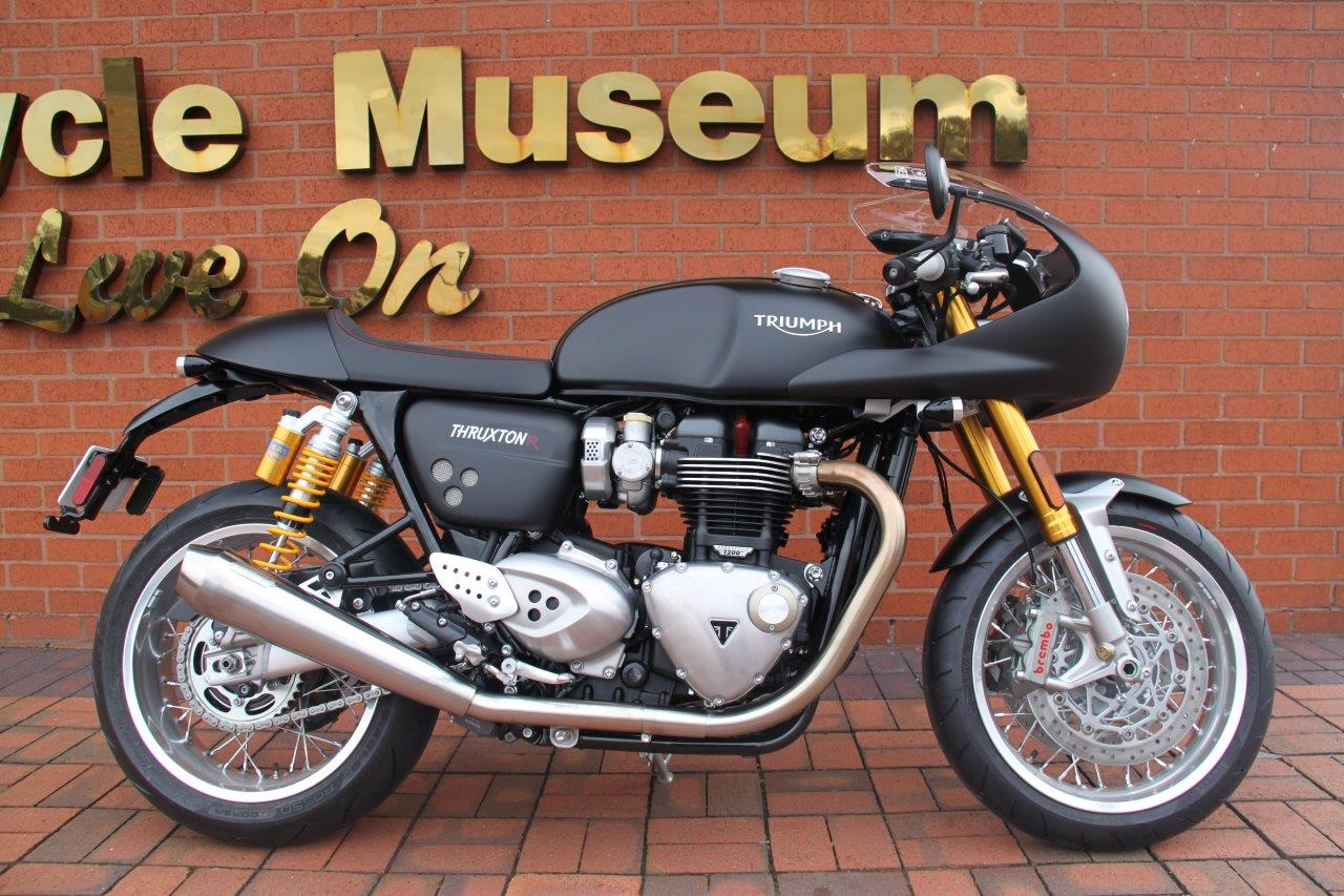 Last Chance To Win A New Triumph Thruxton R National Motorcycle
