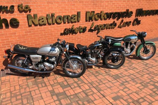 Museum Appeal Raffle Motorcycles