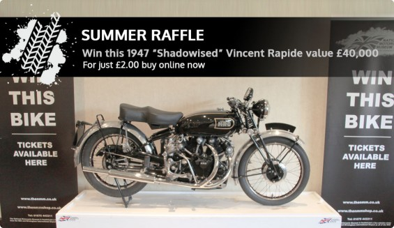 Museum Summer 2015 Bike Raffle