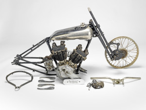 ex-C.F Edwards, 1925 Brough Superior 981cc SS100 Sand Racer Project - IMAGE CREDIT BONHAMS
