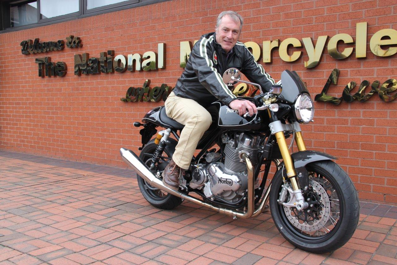 New Norton Commando 961 Raffle Draw Results Announced National Motorcycle Museum