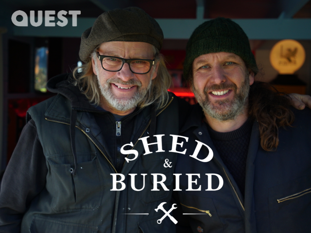 Shed & Buried - live on stage