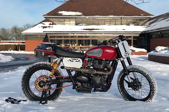 Christmas Special Exhibition - Fogarty's 2016 Custom Bonneville T120